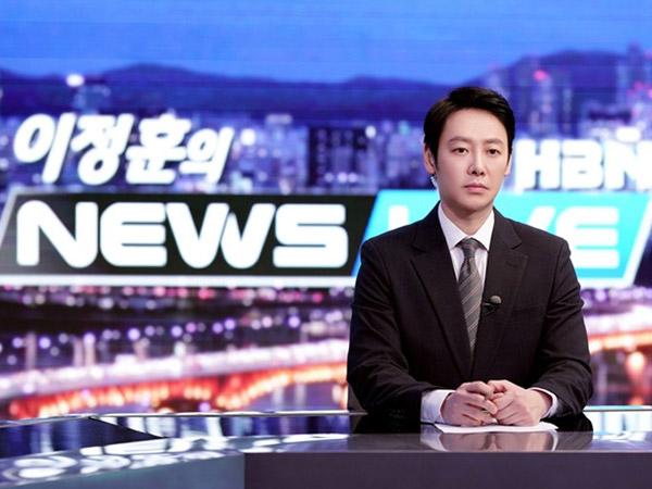 Kim Dong Wook Ungkap Cara Dalami Peran Barunya Sebagai Pembawa Berita