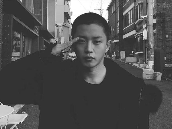 Bareng Onew SHINee, Aktor Kim Min Suk Juga Resmi Masuk Wajib Militer