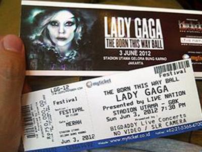 Wah Promotor Diam Soal Kontroversi Konser Gaga