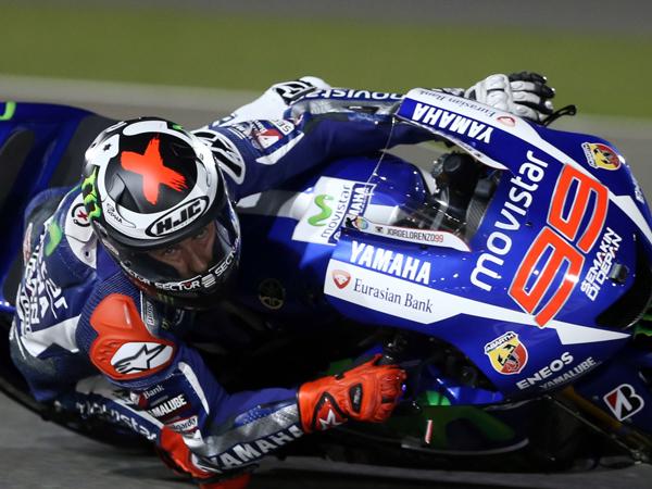 Helm Bermasalah, Lorenzo Gagal Naik Podium di Balapan Pertama MotoGP 2015
