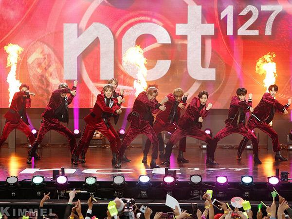 Kerennya Penampilan Perdana NCT 127 Bawakan Lagu Comeback 'Regular' di 'Jimmy Kimmel Live'