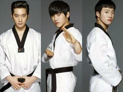 Hoya Infinite, Chansung 2PM & FeelDog Bersiap Tanding Taekwondo!