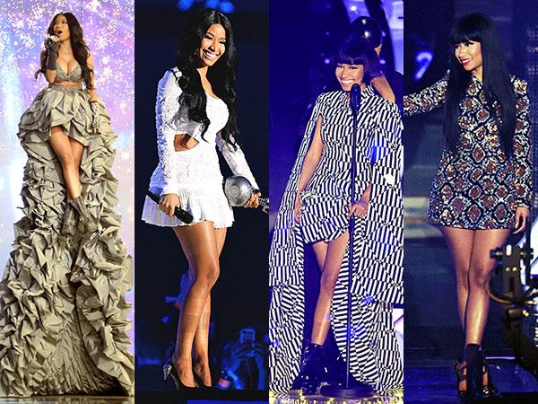 10 Kostum Cantik Nicki Minaj di MTV EMA 2014: Mana Favoritmu?