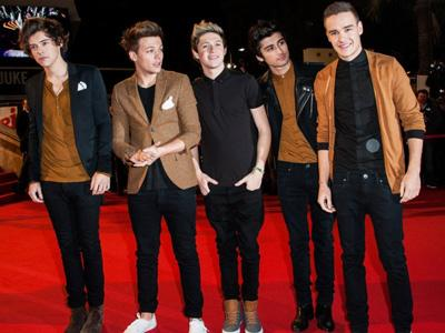 One Direction Kalahkan Coldplay dan Maroon 5 di NRJ Music Awards 2013