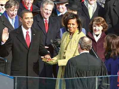 Obama Resmi Sebagai Presiden Amerika
