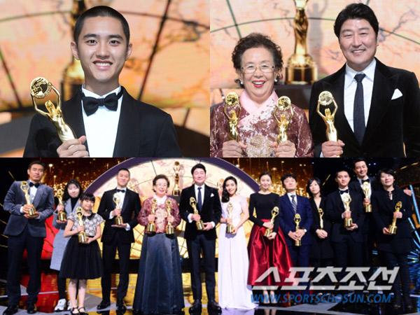 D.O EXO Hingga Jo In Sung Menang Piala Penghargaan Bergengsi '38th Blue Dragon Film Awards'!
