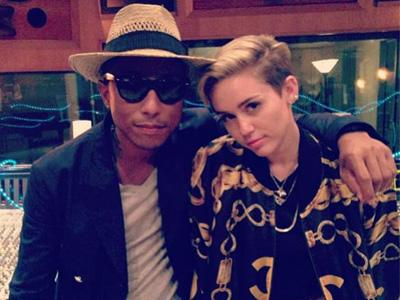"Pharrell Williams : ""Miley Cyrus itu Anak Baik!"""