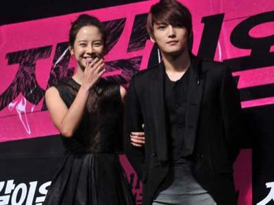 Saat Syuting Song Ji Hyo Hampir Tusuk Kaki Jaejoong JYJ