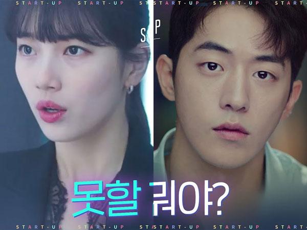 Mimpi Besar Suzy dan Nam Joo Hyuk dalam Teaser 'Start-Up'