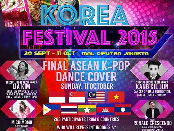 'Korea Festival 2015', Pestanya Pecinta K-Pop yang Menampilkan 11 Dance Cover Se-ASEAN