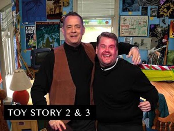 'Toy Story' Hingga 'Da Vinci Code', Tom Hanks Parodikan Puluhan Filmnya Hanya Dalam 7 Menit!