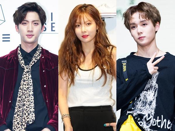 Dua Member PENTAGON Ini Dikonfirmasi Temani HyunA di Proyek Unit Terbaru