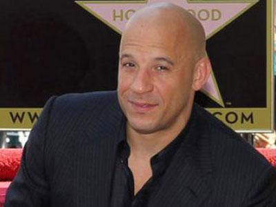 Wow, Vin Diesel Raih Bintang Walk of Fame