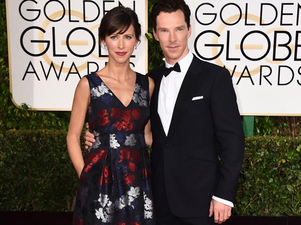 Benedict Cumberbatch dan Istri Jadi Pasangan dengan Penampilan Red Carpet Terbaik di 2015?
