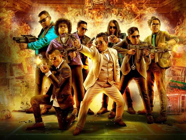 Sekitar 50 Bintang Terkenal Indonesia Tampil di 'Comic 8 Casino Kings' Part I