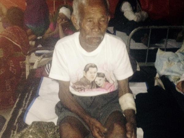 Sepekan Terkubur Puing Gempa Nepal, Pria Usia 101 Tahun Masih Hidup