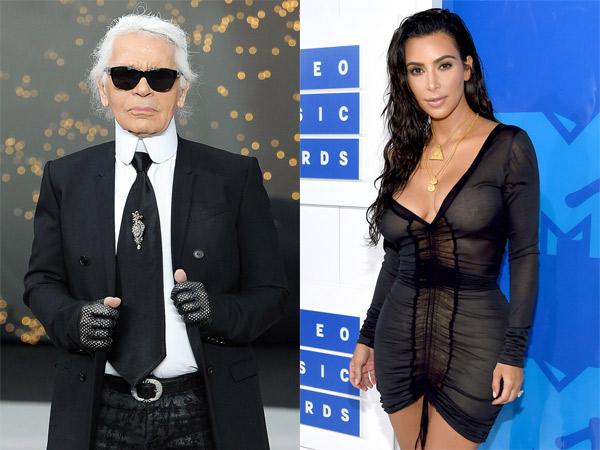 Sempat Diculik di Paris, Karl Lagerfeld Salahkan Kim Kardashian karena Suka Pamer Kekayaan