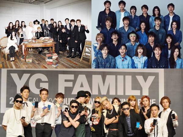 Simak Peringkat Pendapatan Fantastis Para Agensi Idola K-Pop di Tahun 2015