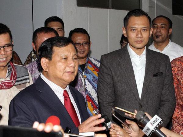 PAN Akhirnya Coret Nama Agus Harimurti Yudhoyono dari Daftar Cawapres Prabowo!