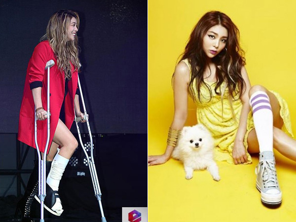 Patah Tulang, Ailee akan Promosikan Comebacknya di Sepanjang Program Musik Sambil Duduk?