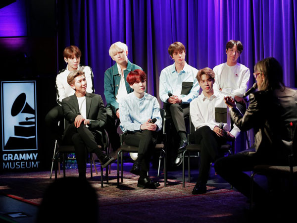 Fakta di Balik Album BTS 'Love Yourself: Tear' yang Masuk Nominasi Grammy Awards