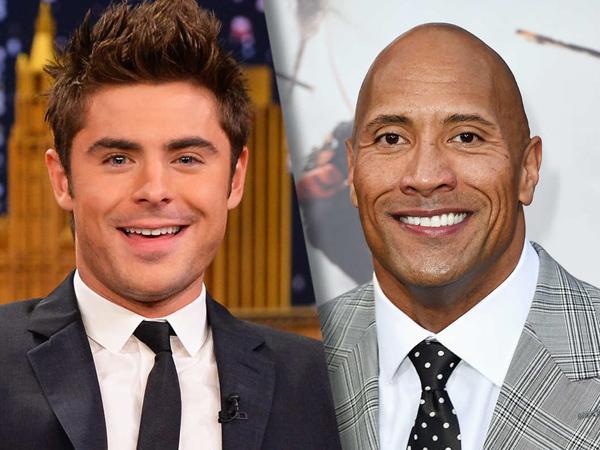 Zac Efron Resmi Bergabung Dengan Dwayne 'The Rock' Johnson Di Film 'Baywatch'