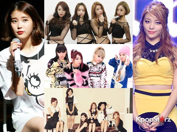 SNSD, AOA, Hingga Ailee, Inilah Idola K-Pop Wanita Paling Berprestasi di Panggung Musik 2014