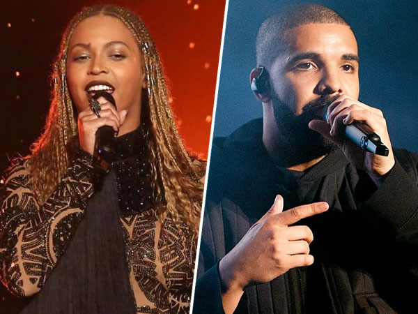 Beyonce Knowles dan Drake Sukses Sapu Bersih Piala di 'BET Awards 2016'