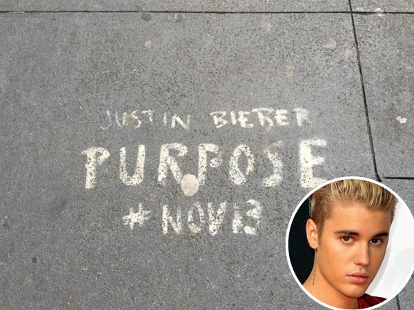 Coret Trotoar Kota Untuk Promosikan Album, Justin Bieber Terancam Dituntut Denda