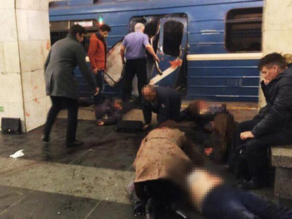 Geger Teror Bom Kereta St. Petersburg Rusia, Pelaku Hanya Berjumlah Satu Orang?