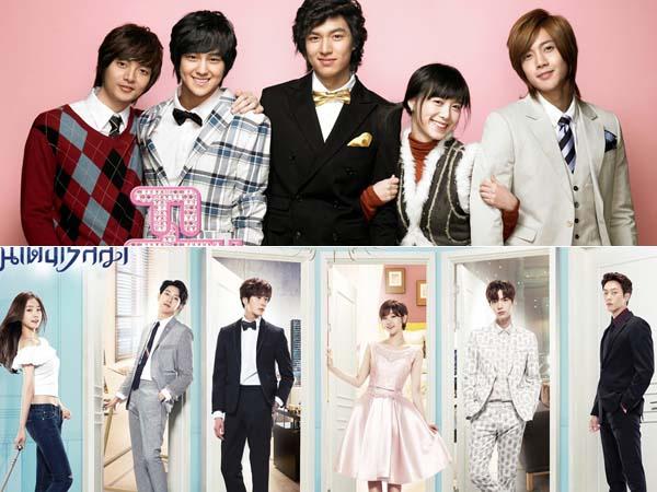 Konsepnya Mirip, Lebih Favorit Drama 'Boys Before Flowers' atau 'Cinderella and the Four Knights'?