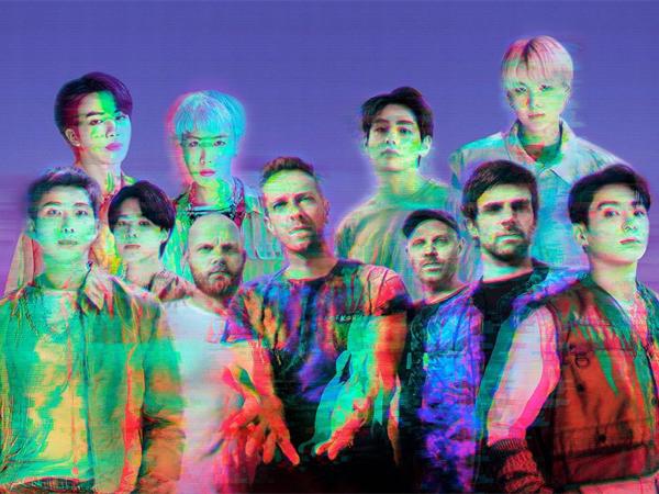 Coldplay dan BTS Ungkap Jadwal Rilis Single Kolaborasi 'My Universe', Bakal Ada MV!