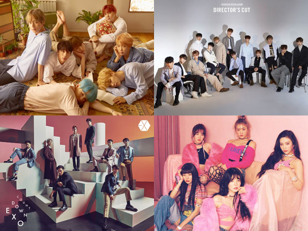 BTS, SEVENTEEN, EXO, dan Red Velvet Dominasi Chart Billboard World Albums