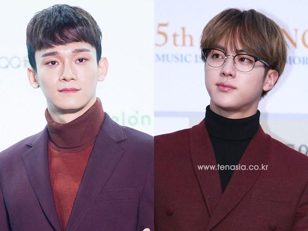 Chen EXO dan Jin BTS Lanjut Kuliah S2 di Universitas yang Sama!