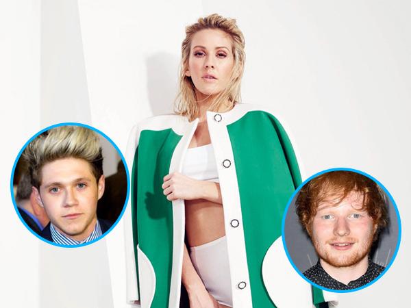 Dirumorkan Terlibat Cinta Segitiga dengan Niall Horan dan Ed Sheeran, Ellie Goulding Marah!