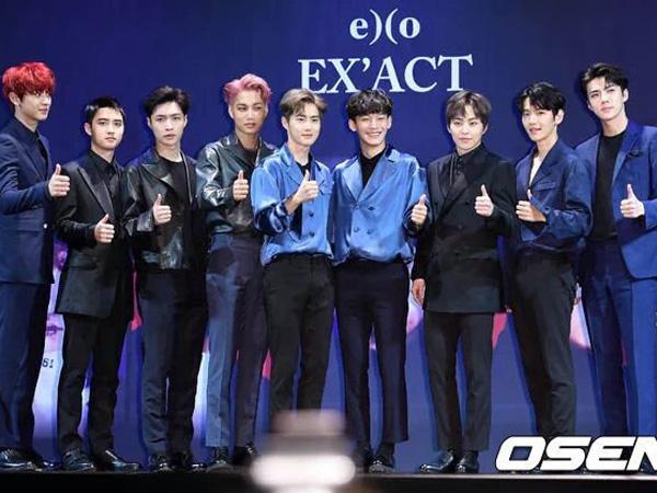 Belum Resmi Rilis, Album Baru EXO Sudah Pecahkan Rekor Baru!