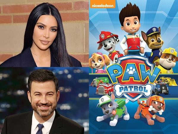 Kim Kardashian Hingga Jimmy Kimmel Bintangi Film Animasi 'PAW Patrol'