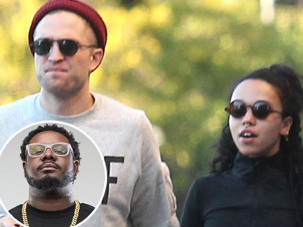 T-Pain Bocorkan Robert Pattinson dan FKA Twigs Sudah Tunangan!
