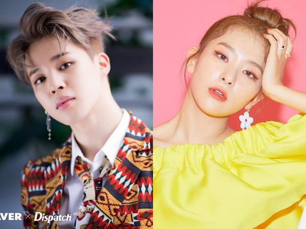 Jimin BTS dan Seulgi Red Velvet Puncaki Daftar Reputasi Brand Member Grup K-Pop