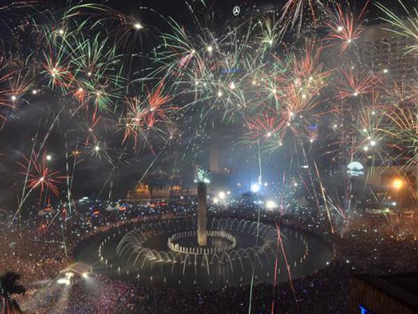 Malam Tahun Baru, Ahok Hapus Kado Gubernur Jakarta Night Festival