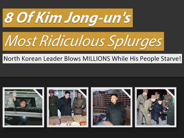 Inilah Benda-Benda Konyol yang Pernah Dibeli Kim Jong-Un Dengan Harga Fantastis