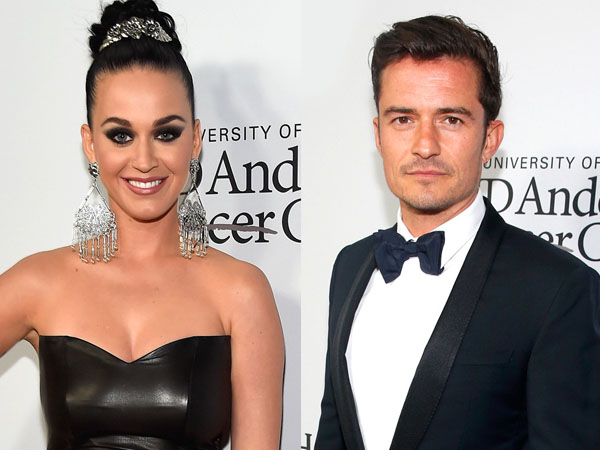Tak Peduli dengan Rumor Perselingkuhan, Katy Perry Kembali Mesra dengan Orlando Bloom
