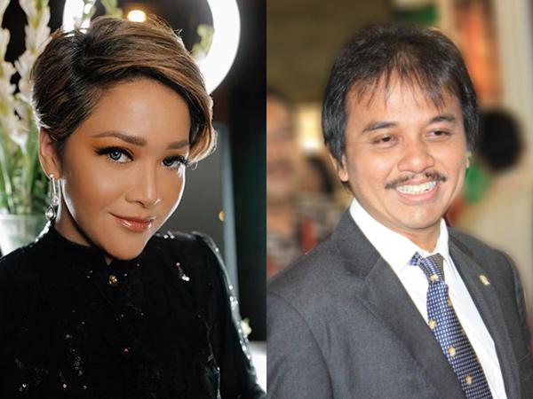 Perang Twitter Maia Estianty dan Roy Suryo Soal Corona