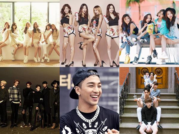 Inilah Para Idola K-Pop yang Siap Tampil Meriahkan MelOn Music Awards 2014!