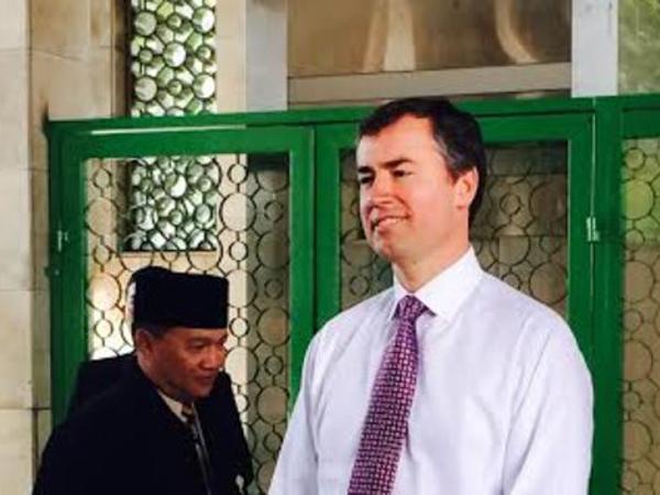 Kunjungi Masjid Istiqlal, Menteri Kehakiman Australia Puji Toleransi Beragama di Indonesia