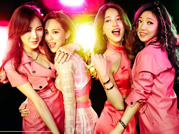 Masih Kompak, Jia dan miss A Rayakan Ulang Tahun Grup yang Ke-6!