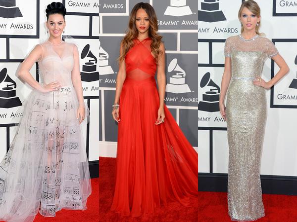 Inilah Gaun Terbaik Para Selebriti di Sepanjang Red Carpet 'Grammy Awards'