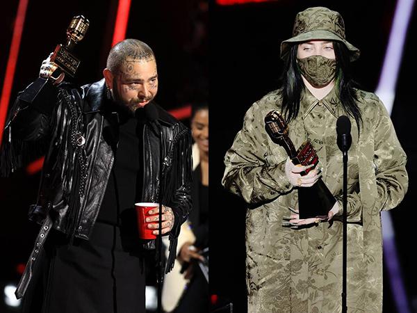 Billie Eilish dan Post Malone Bawa Kemenangan Besar di Billboard Music Awards 2020