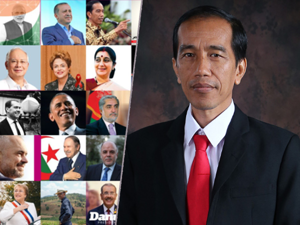 Presiden Jokowi Masuk 5 Besar Pemimpin Dunia Paling Populer