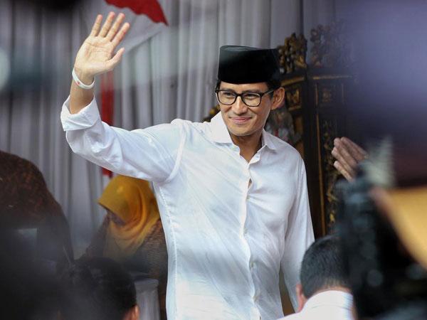 Pendapat Sandiaga Saat Prabowo Duduk Sebaris dengan Megawati, Jokowi & Ma'ruf Amin di Kongres PDI-P